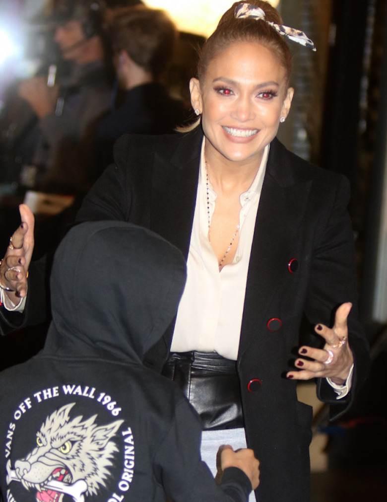 Jennifer Lopez z synem Maxem