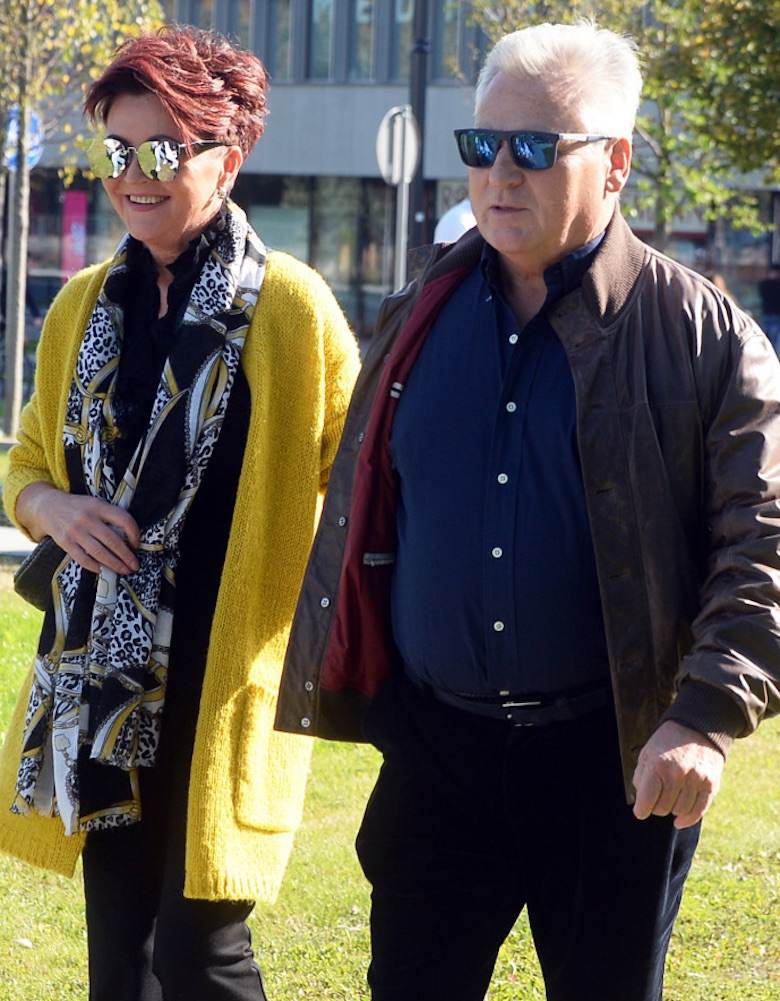 Jolanta Kwaśniewska z mężem – wybory parlamentarne 2019