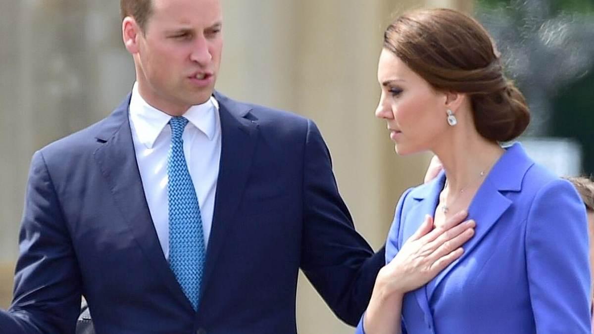 Książę William i księżna Kate udawali romans