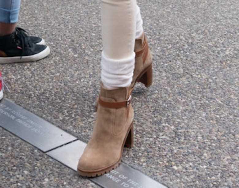 Zdjęcie (5) Melania Trump nawet na sportową imprezę włożyła buty od Louboutina. Trochę kosztowały…