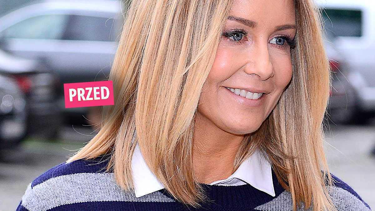 Małgorzata Rozenek nowa fryzura