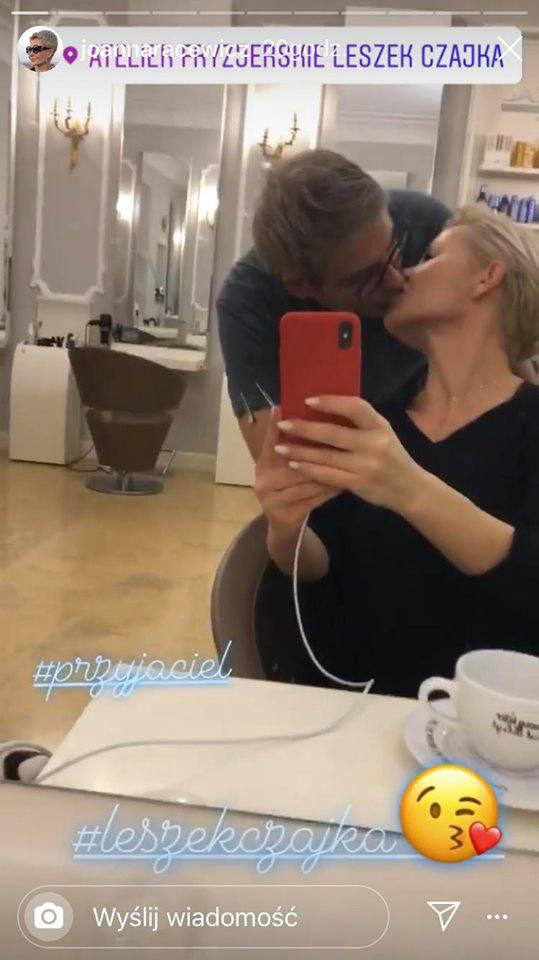 Joanna Racewicz i Leszek Czajka
