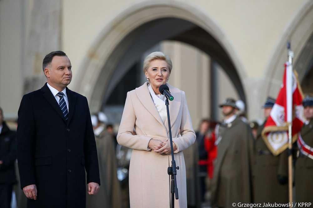Agata Duda na Wawelu