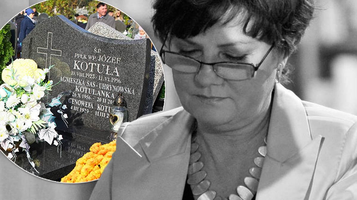 Agnieszka Kotulanka - jak wygląda jej grób?