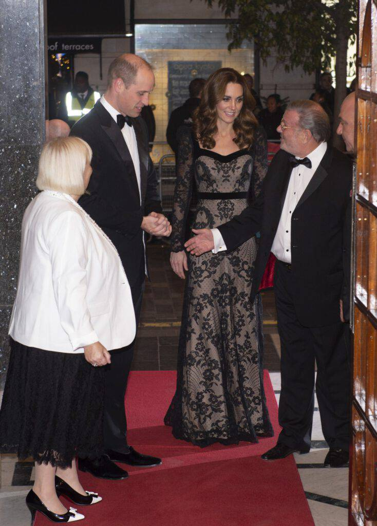 Księżna Kate i książę William - Royal Variety Perfromance 2019