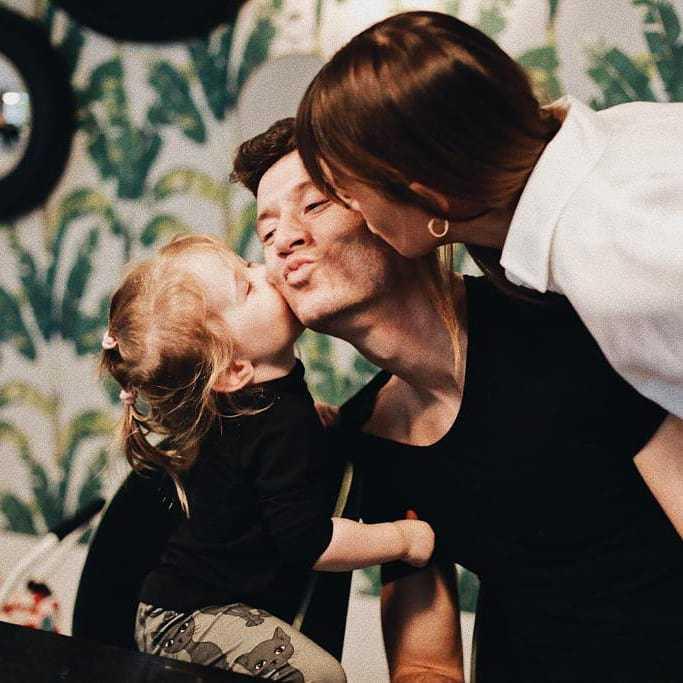 Ania Lewandowska pokazała twarz Klary