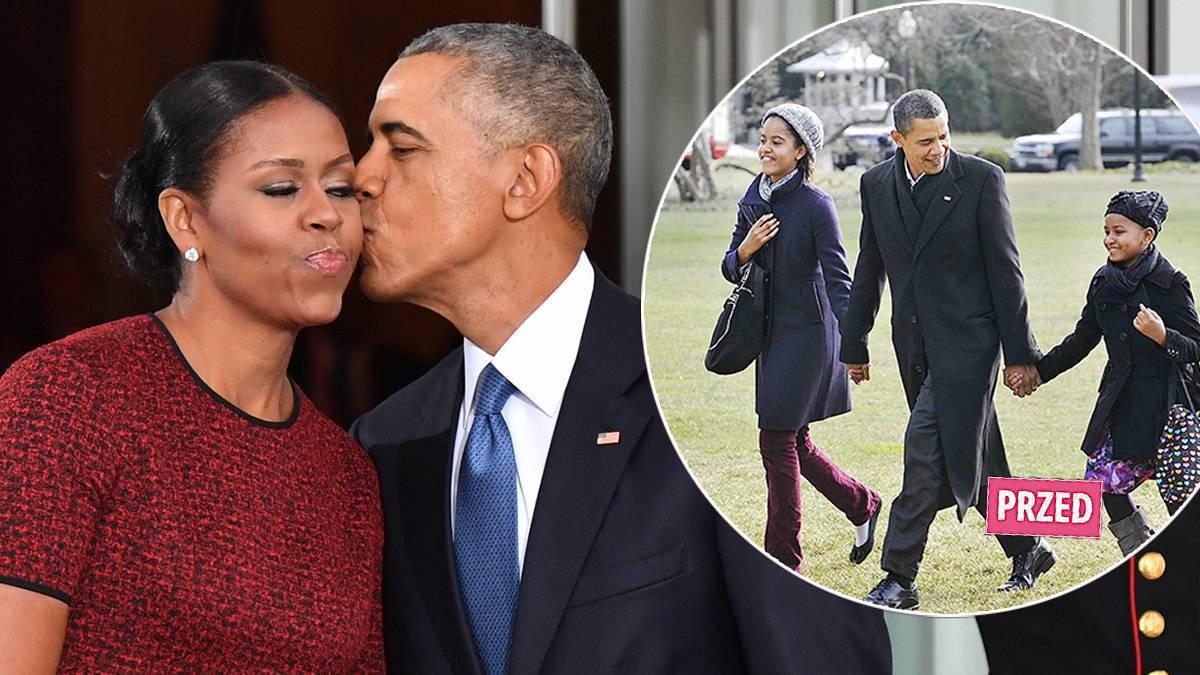 Barack Obama i Michelle Obama - jak wyglądają ich córki?