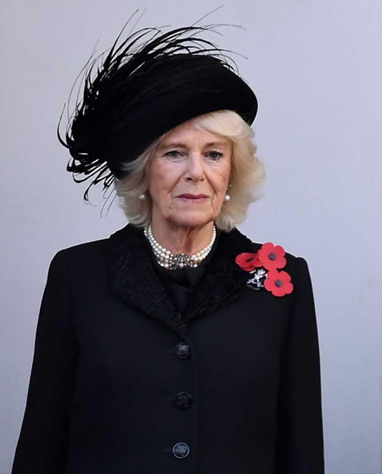 Księżna Camilla na obchodach Dnia Pamięci