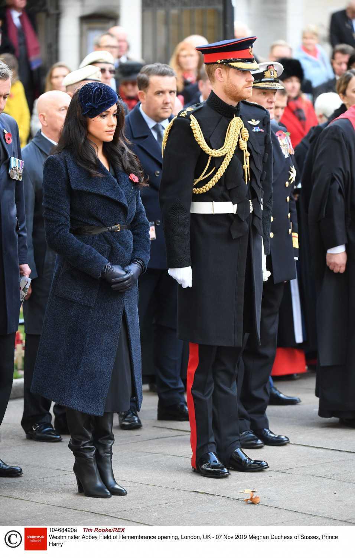 Meghan Markle i książę Harry wzięli udział w uroczystości upamiętniającej ofiary wojenne