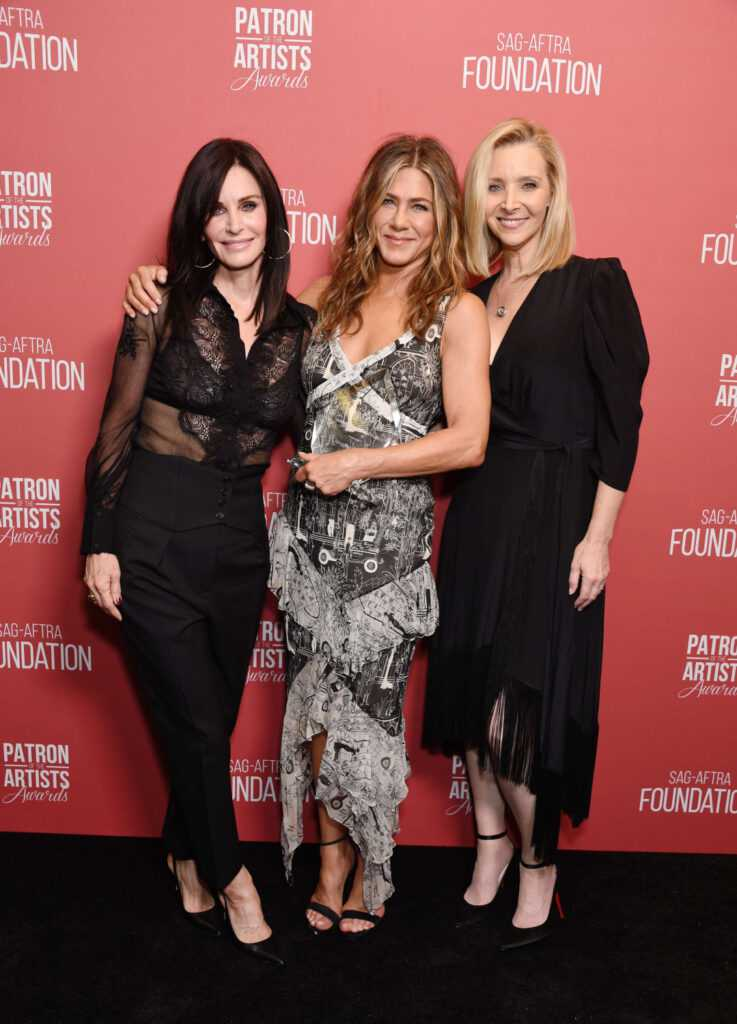 Courteney Cox, Jennifer Aniston i Lisa Kudrow – SAG-AFTRA Foundation 2019