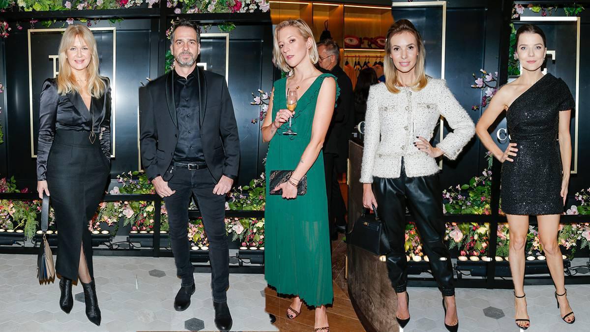 Gwiazdy na otwarciu luksusowych butików