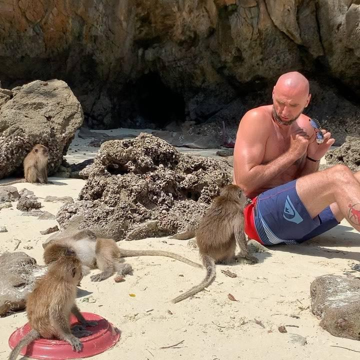 Marcin Gortat odpoczywa na wakacjach