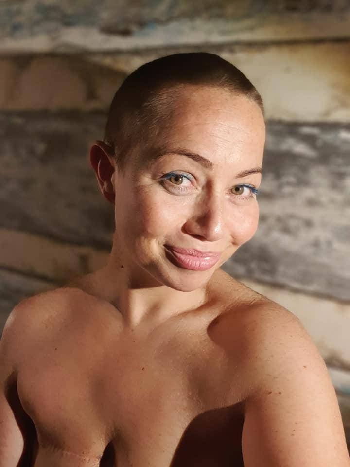 Marta Smuk zgoliła włosy