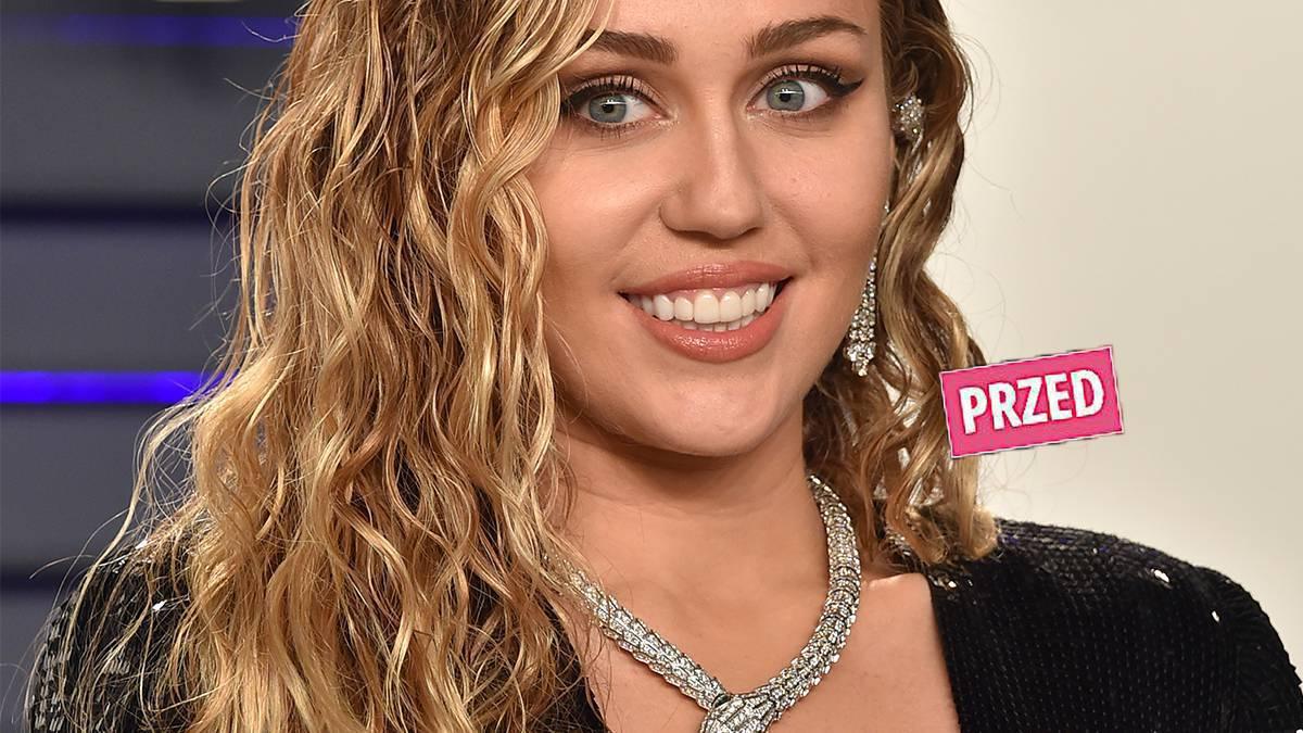 Miley Cyrus - nowa fryzura