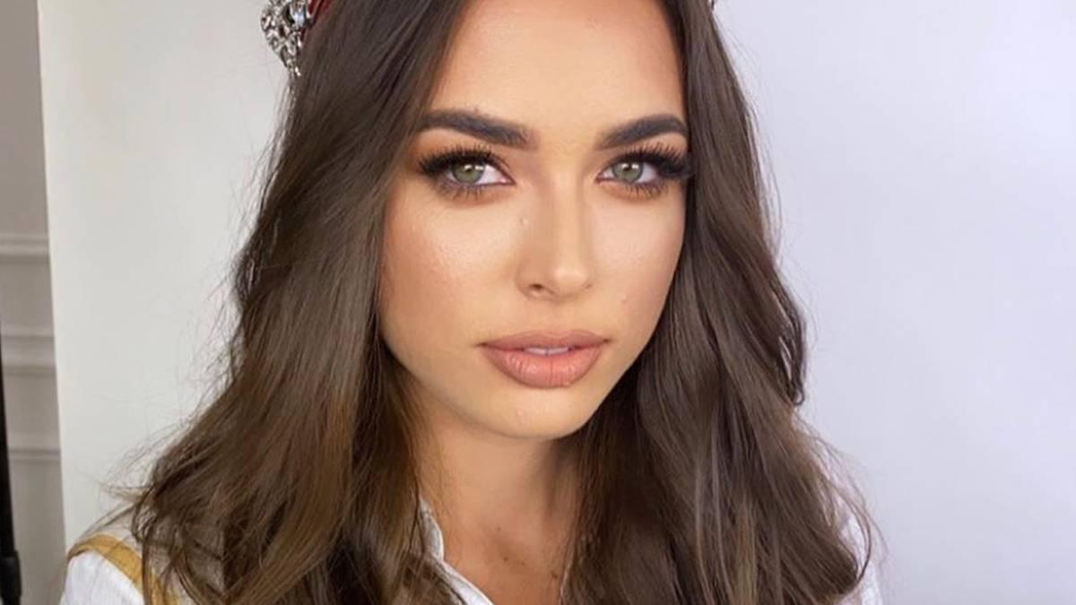 Olga Buława - suknia na wybory Miss Universe