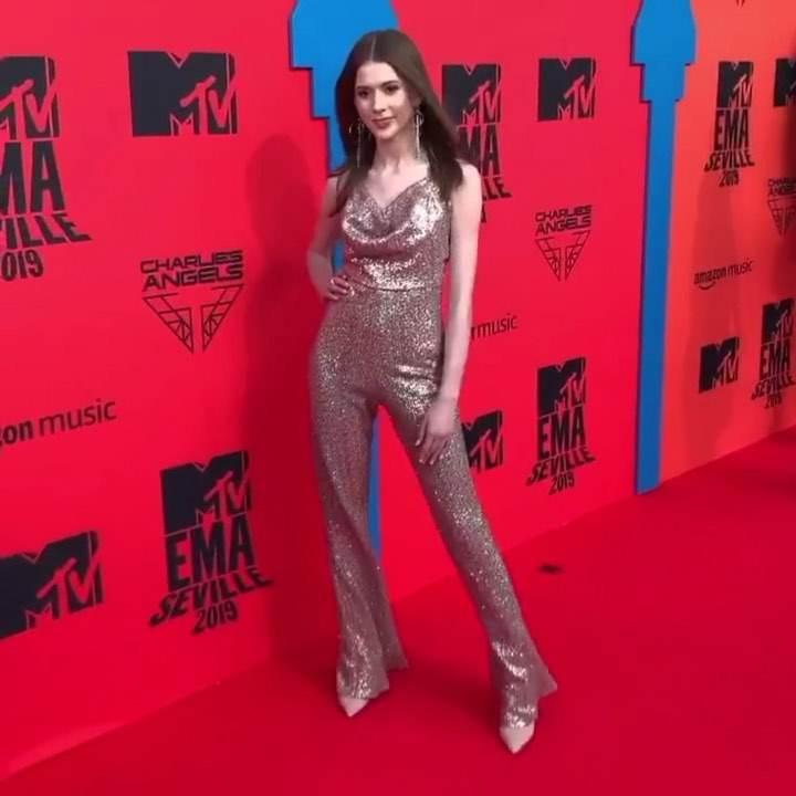 Roksana Węgiel pojawiła się na MTV EMA 2019