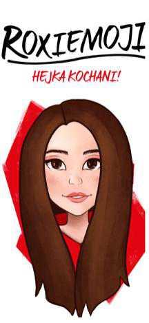Aplikacja z emoji Roksany Węgiel