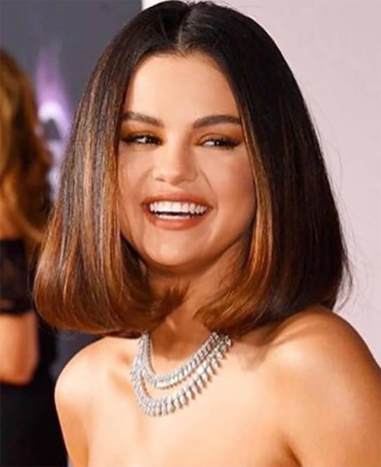 Selena Gomez, makijaż – American Music Awards 2019