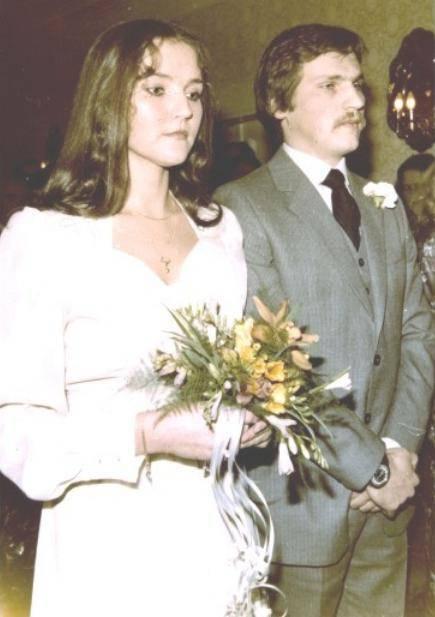 Ślub Jolanty Kwaśniewskiej i Aleksandra Kwaśniewskiego