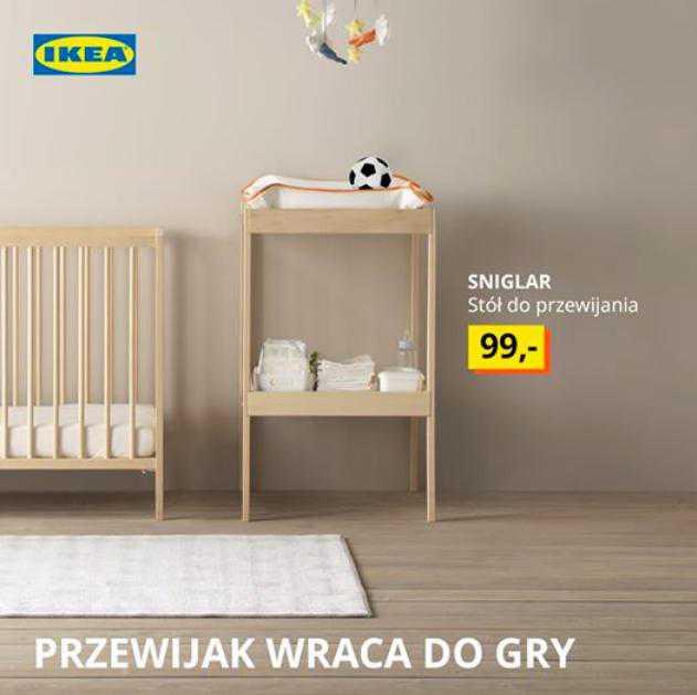 Reklama Ikei nawiązująca do ciąży Anny Lewandowskiej