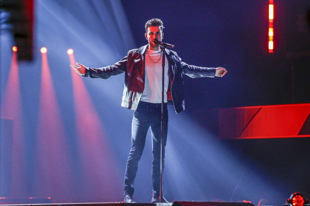Duncan Laurence - półfinał The Voice of Poland 10