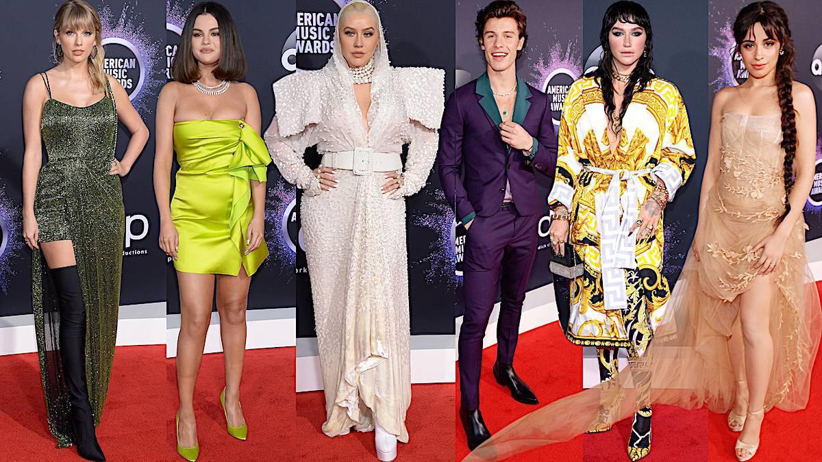 Kreacje gwiazd na American Music Awards 2019
