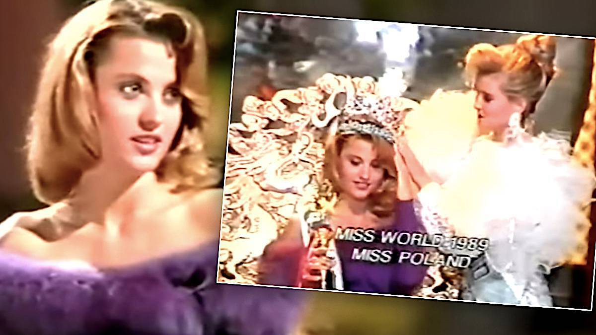 Aneta Kręglicka na Miss World 1989