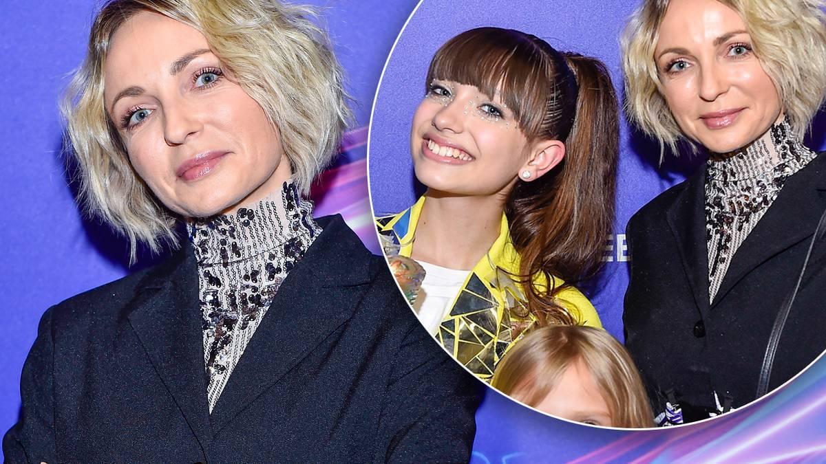 Ania Wyszkoni z Viki Gabor i córką Polą