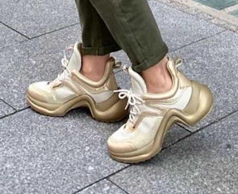 Joanna Koroniewska w butach Louis Vuitton