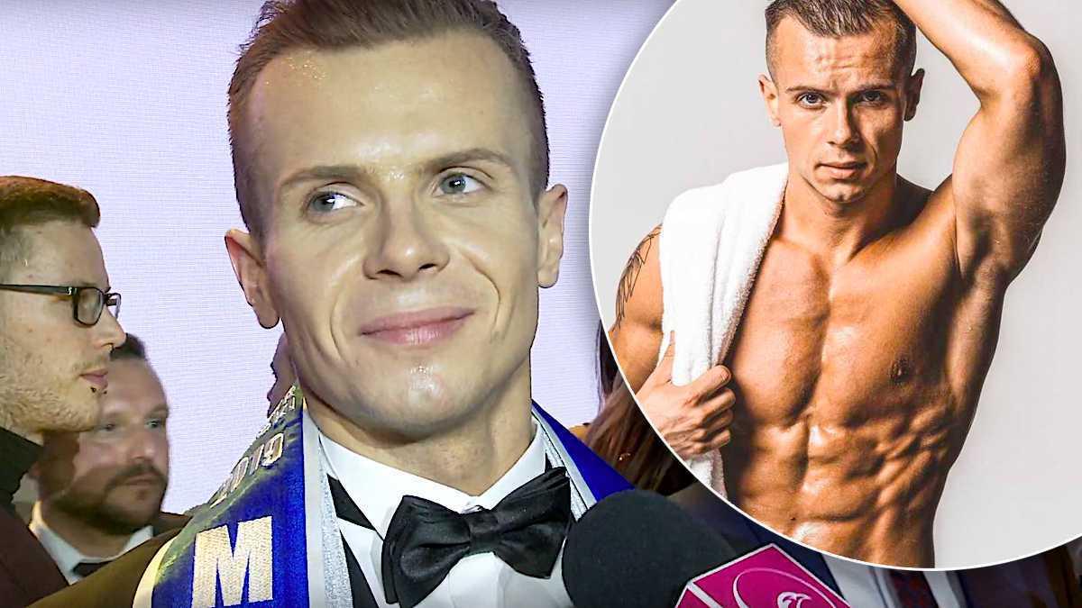 Daniel Borzewski, Mister Polski 2019 – pierwszy wywiad