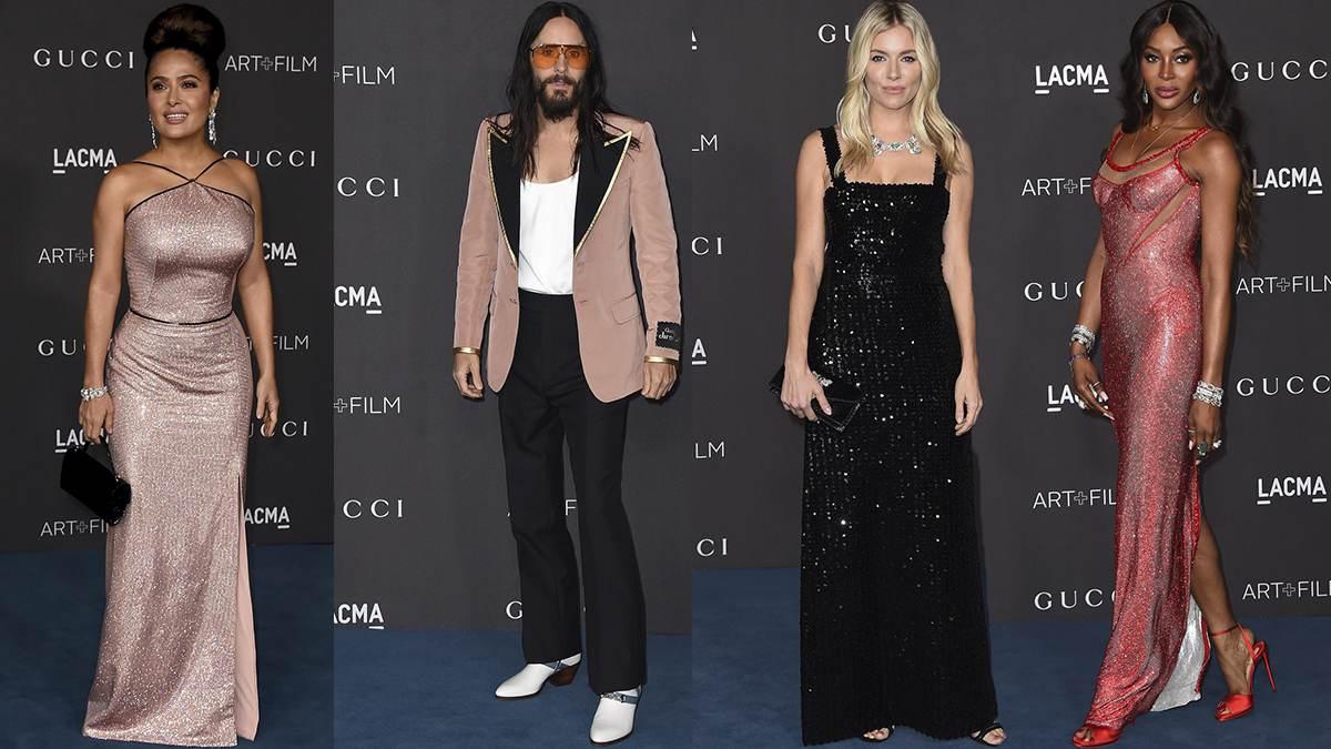 Gwiazdy na LACMA Art+ Film Gala