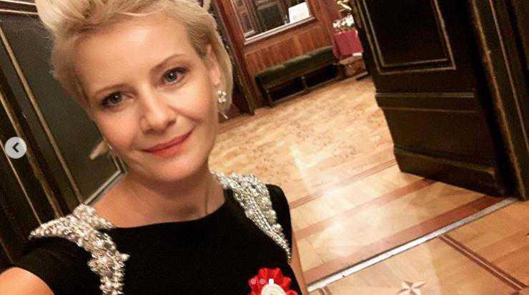 Małgorzata Kożuchowska na toruńskim Balu Niepodległości 2019
