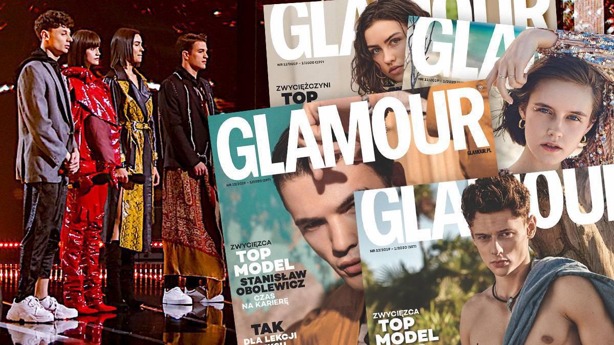 Okładki Glamour z finalistami Top Model