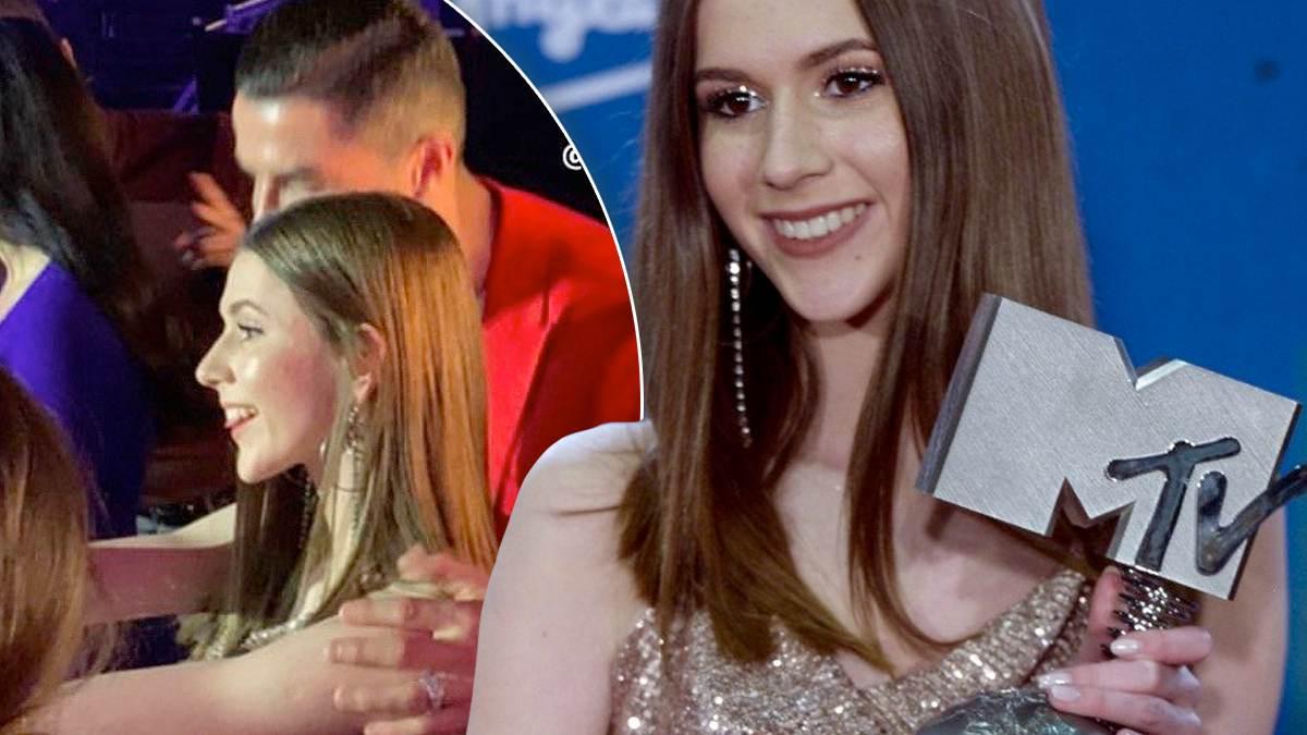 Roksana Węgiel i Cristiano Ronaldo na MTV EMA 2019