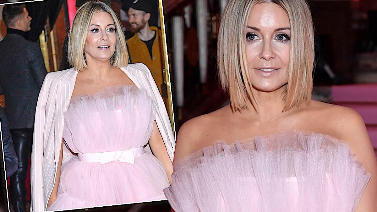 Małgorzata Rozenek w różowej sukience