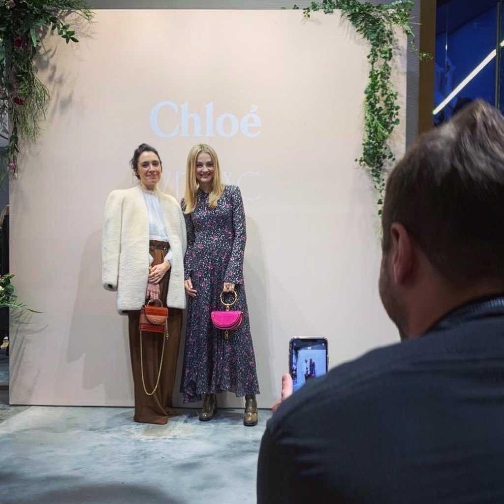 Małgorzata Socha na imprezie Chloe