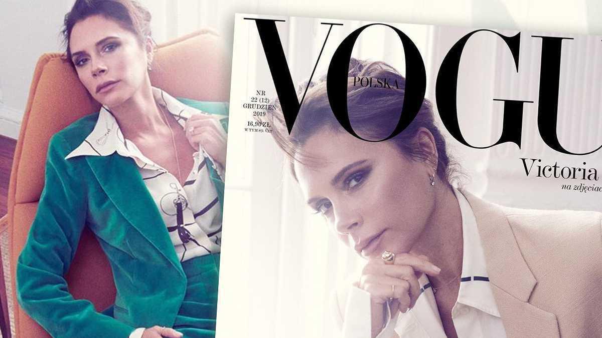 Victoria Beckham w Vogue Polska