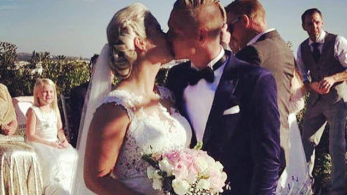 Fredrik Lindgren wziął ślub