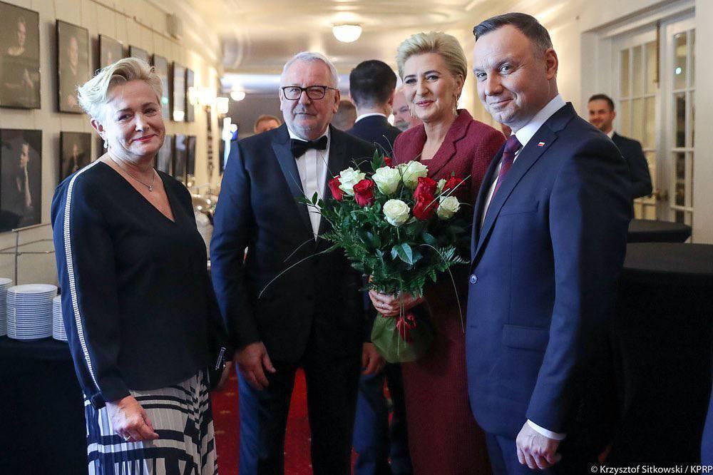 Agata Duda i Andrzej Duda - Gala Jubileuszu 30-lecia odrodzonego samorządu lekarskiego