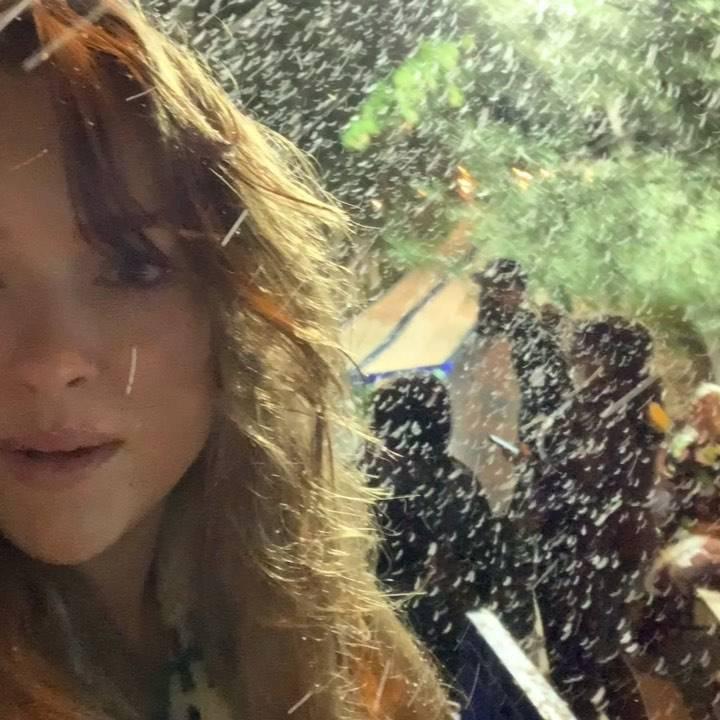 Alicja Bachleda-Curuś pokazała zabawy w śniegu