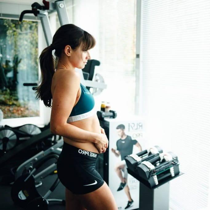 Anna Lewandowska pokazała brzuch