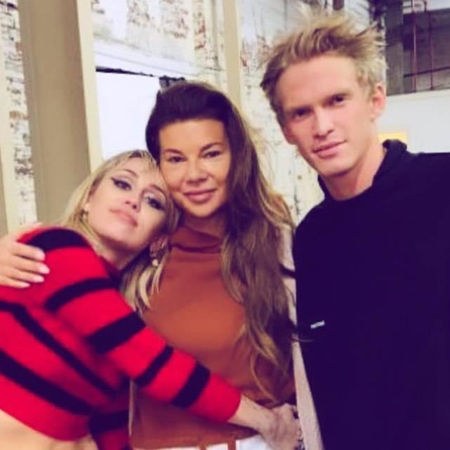 Edyta Górniak, Miley Cyrus i Cody Simpson
