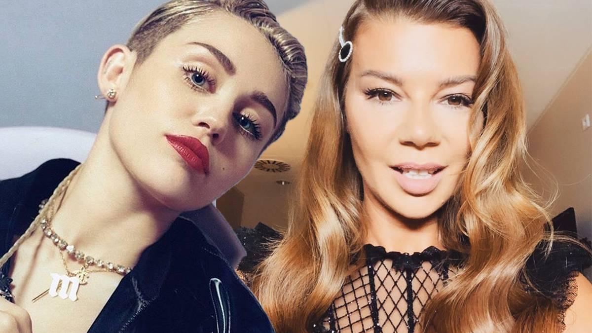 Edyta Górniak i Miley Cyrus