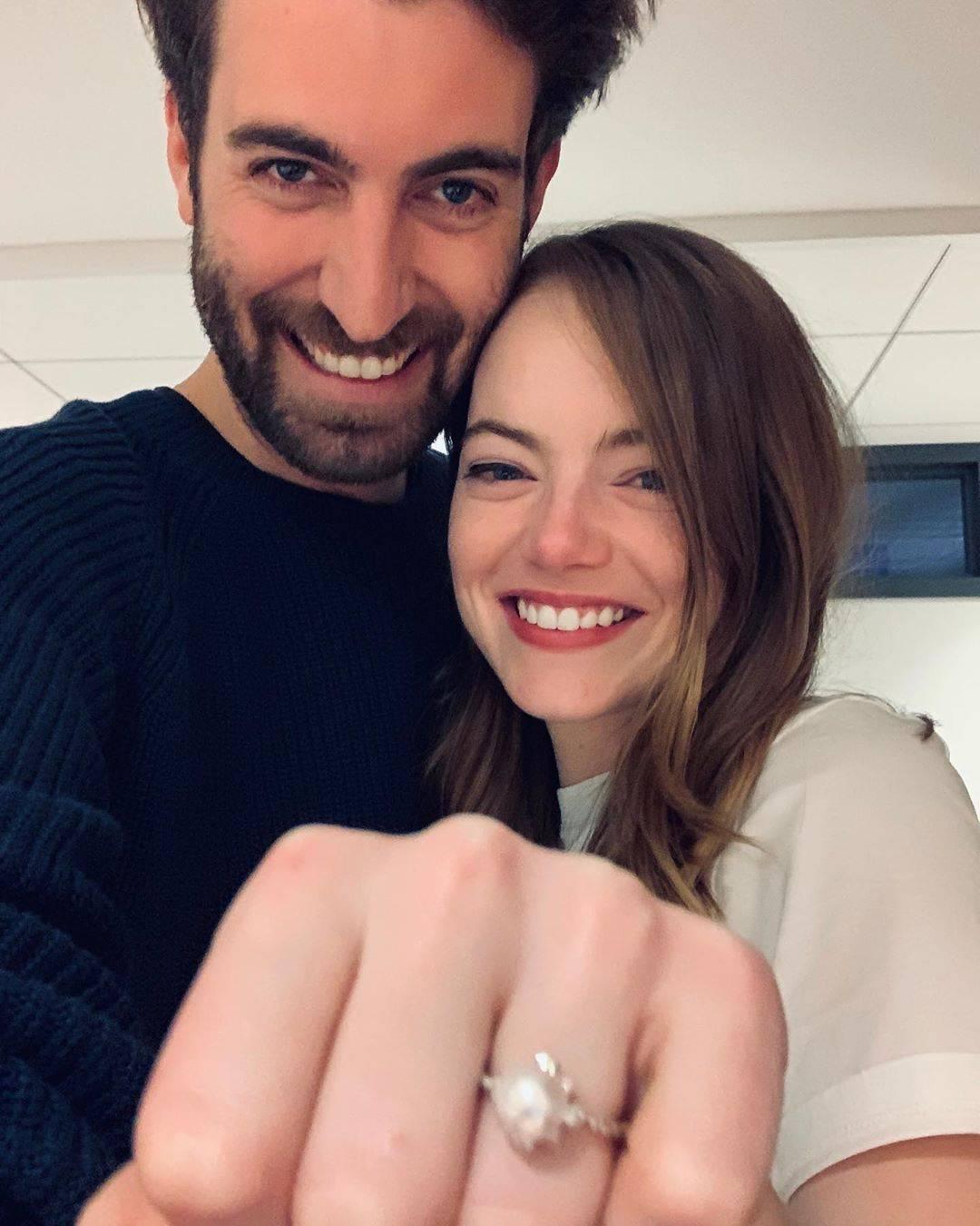 Emma Stone zaręczyła się. Pokazała pierścionek zaręczynowy