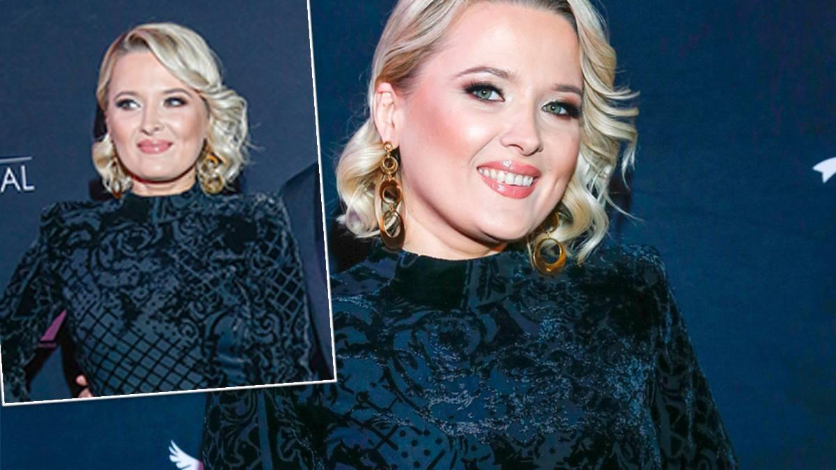 Gosia Andrzejewicz na wyborach Miss Polski 2019