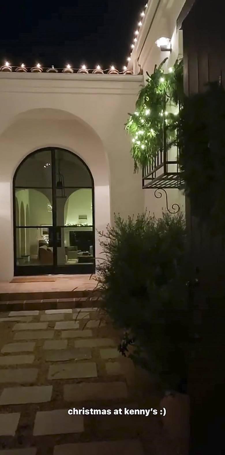 Kendall Jenner - świąteczne mieszkanie