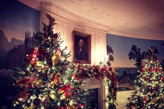 Melania Trump jak Dorota Szelągowska. Wystroiła Biały Dom na święta tak, ze szczęka opada z wrażenia [WIDEO] zdjecie 1