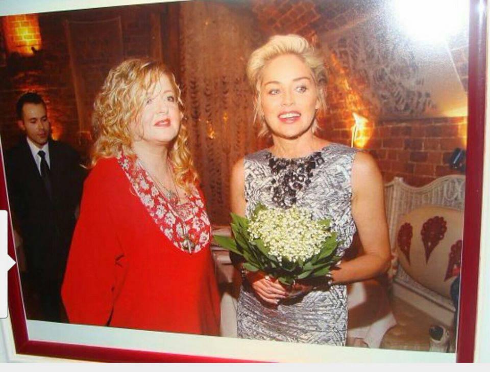 Magda Gessler i Sharon Stone U Fukiera