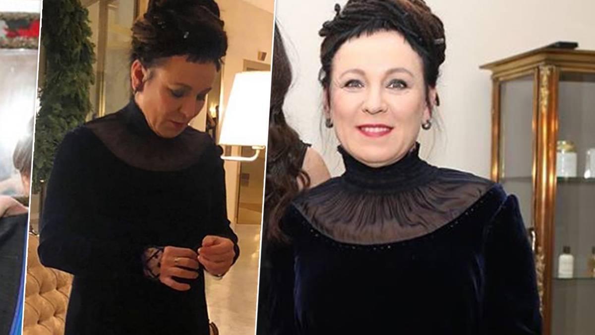 Olga Tokarczuk - suknia