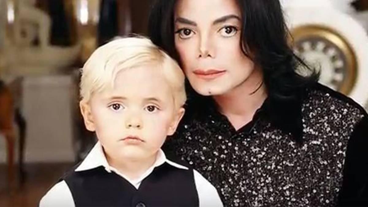 Prince Jackson i Michael Jackson